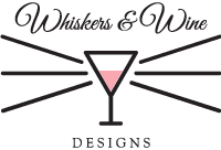 Whiskers and Wine Designs | 2018 April Phone Wallpaper Download