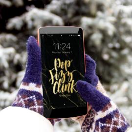 2018 January Phone Wallpaper Download
