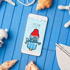 2018 July Phone Wallpaper Download