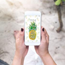 2018 June Phone Wallpaper Download