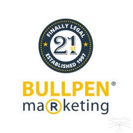 Bullpen Marketing 21st Anniversary Logo